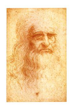 Leonardo da Vinci - self-portrait