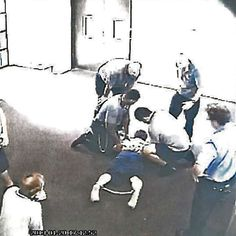 Images emerge of alleged mistreatment at Townsville's Cleveland Youth Detention Centre