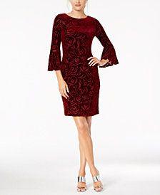 16++ Calvin klein burnout velvet dress inspirations