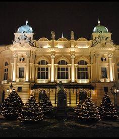 Slowacki Theatre, Krakow, Poland