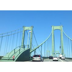 Delaware Memorial Bridge, on our way to M3 Festival :)
