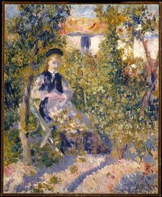 Auguste Renoir (French, 1841–1919). Nini in the Garden (Nini Lopez), 1876. The Metropolitan Museum of Art, New York. The Walter H. and Leonore Annenberg Collection, Gift of Walter H. and Leonore Annenberg, 2002, Bequest of Walter H. Annenberg, 2002 (2002.62.2)