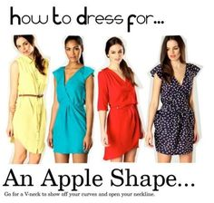 Dresses for...an apple shape! | boohoo.com blog