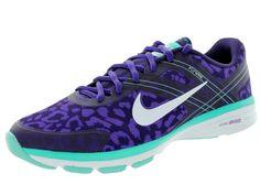 Nike Women's Dual Fusion Tr 2 Print Crt Prpl/Wht/Hypr Grp/Hypr Jd Running Shoe 7.5 Women US