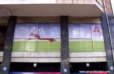 #vinilo microperforado ventanas, Barcelona