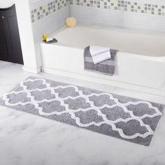 White Curved Bath Mat Bathroom Decor Pinterest Best Bath Mat - Curved bath mat for bathroom decorating ideas