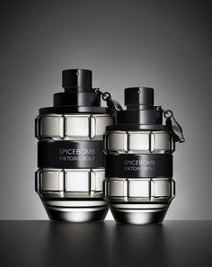 Spicebomb Eau de Toilette is the new fragrance for men from Viktor & Rolf, infusing the codes of masculine perfumery with olfactory dynamite, Viktor & Rolf Victor And Rolf, Sent Bon, Best Fragrances, Big Bang, Viktor Rolf, Bottle Design, After Shave, Smell Good, Mens Fashion