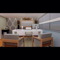 Clínica de pós operatório (parte de atendimento/avaliação) projetada por nós da criadecore. #alamedasantos #decor #design… Corner Desk, Furniture, Design, Home Decor, Corner Table, Room Decor, Design Comics, Home Interior Design