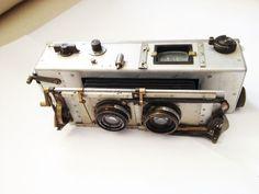 vintage stereo camera