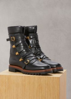 DIORWildior lace-up boots