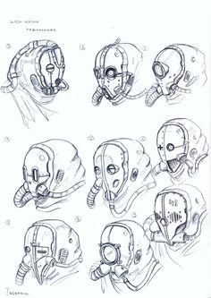 masks by TugoDoomER.deviantart.com on @DeviantArt