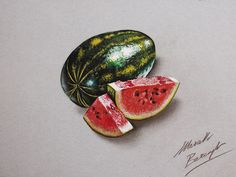 Realistic Color Drawings by Marcello Barenghi