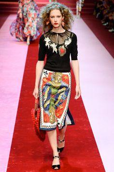 Фееричная коллекция Dolce&Gabbana весна-лето 2018 - Ярмарка Мастеров - ручная работа, handmade