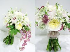 lovely bouquet with bleeding heart! I LOVE this! by my fleur journey
