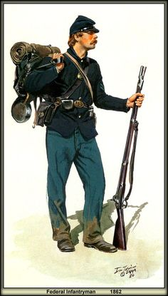 Federal Infantryman, Don Troiani