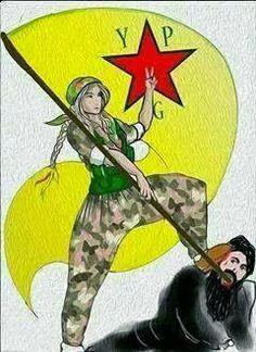Kobane-- YPG against ISIS terrorists