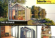 The Bunkie : Tiny Homes That can be Built From a Plan or a Kit