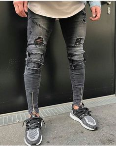 Denim Jeans Men, Denim Shirt, Fresh Outfits, Cool Outfits, Lined Jeans, Athletic Fashion, Athletic Shoes, Men's Wardrobe, Mens Fashion Suits
