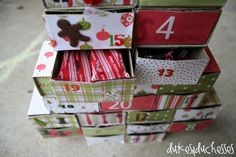 I've had a number of questions about our advent calendar so I thought I'd share. A number of years ago, I became disappointed in attitudes of the heart that I was seeing around our house. I decided that Christmas needed to take on a different focus and become more about giving than receiving. And I …