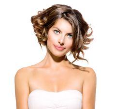 How you can get tousled hair for any length? We have secret trick for creating amazing wavy beach hair yourself. Try these tricks to have gorgeous Tousled hair. Wavy Bobs, Short Hair With Bangs, Short Hair Cuts, Short Hair Styles, Wavy Bob Hairstyles, Romantic Hairstyles, Bob Haircuts, Tousled Hair, Ombre Hair