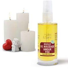 Huile de massage Amour Fou Pillar Candles, Dyi, Smell Good, Homemade, Massage Oil, Taper Candles