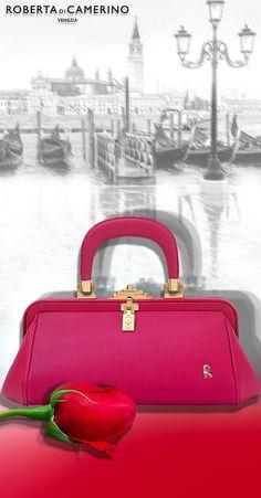 5fb3dade3e4a7b 13 Amazing Roberta Di Camerino images   Leather handbags, Leather ...