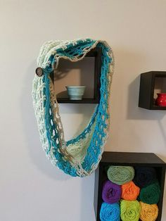 Check out this item in my Etsy shop https://www.etsy.com/listing/488135920/crochet-simple-infinity-scarf