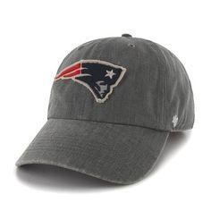 Official New England Patriots ProShop - '47 Brand Hulett Cap-Dark Gray