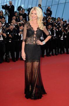 Pin for Later: Retour Sur les Meilleurs Looks du Festival de Cannes 2015 Jour 5 Victoria Silvstedt