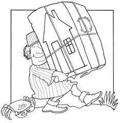 La parabole de la maison sur le roc (coloriages) Extra ! - Levangelisation (section Enfants)