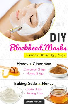 DIY Blackhead Mask - Nine Simple Masks to Remove Those Ugly .- DIY Blackhead Mask – Nine Simple Masks to Remove Those Ugly Plugs! DIY Blackhead Mask – Nine Simple Masks to Remove Those Ugly Plugs! Beauty Tips For Face, Natural Beauty Tips, Natural Skin Care, Face Tips, Natural Health, Natural Cures, Natural Face Masks, Beauty Guide, Natural Remedies For Anxiety