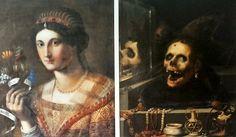 Ritratto femminile: recto - verso (1604; Bodnant, Collezione Aberconway)