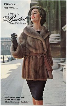 1960s, love the fur