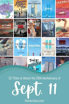 20 Titles to Honor the 20th Anniversary of Sept. 11