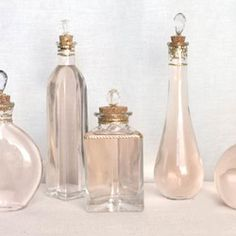 Make your own pretty perfume bottle with this tutorial!