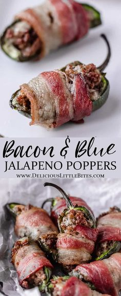 Bacon & Blue Cheeseburger Jalapeño Poppers are a fun, delicious variation of this popular appetizer recipe! This is a fairly quick and easy keto beginners recipe with yummy ground beef and blue cheese… More