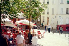Wandering the Streets of Montmartre by Paris in Four Months