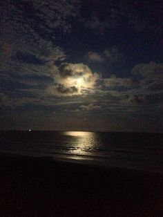 Kiawah beach new moon