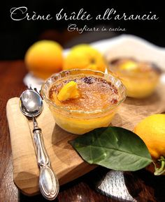 Crème brûlée all'arancia http://blog.giallozafferano.it/graficareincucina/creme-brulee-all-arancia/