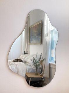 No. 1 - Glare Goods Room Ideas Bedroom, Bedroom Decor, Wall Decor, Aesthetic Room Decor, Dream Home Design, Dream Rooms, House Rooms, Future, Wall Mirrors