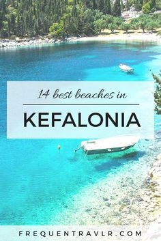 Looking for the best hotels in Kefalonia? We travelled the island to find the best hotels for couples and families for your holiday in Kefalonia at the chea Mykonos, Santorini, Beach Fun, Beach Trip, Places To Travel, Travel Destinations, Greek Island Hopping, Beaches In The World, Destin Beach
