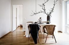 The Scandinavian style is probably one of the most inviting and cozy there are. There's a certain appeal to this particular style that makes it perfect in