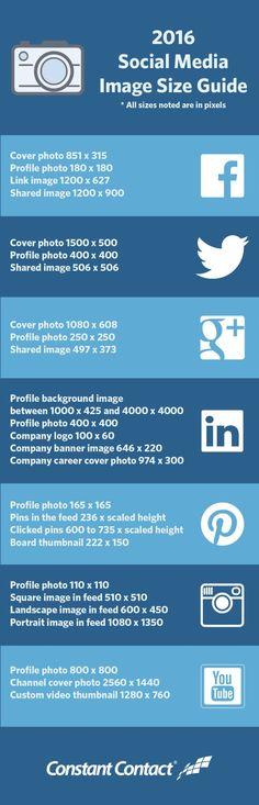 2016 Social Media Image Size Guide final