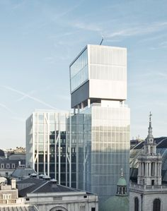 HIC Arquitectura » OMA + Allies and Morrison > New Court Rothschild Headquarters City of London