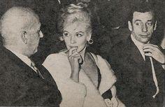 Mai 1960 Show de Joséphine Baker - Divine Marilyn Monroe