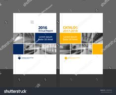 Cover design for annual report and business catalog, magazine, flyer or booklet. cover vector sample image with Gradient Mesh. Booklet Cover Design, Brochure Cover Design, Graphic Design Brochure, Brochure Template, Magazine Ideas, Magazine Design, Book Design Layout, Print Layout, Directory Design