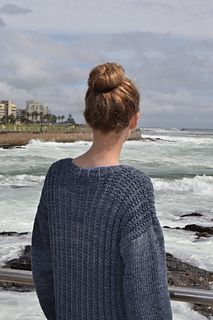 Seeded stitch sweater by Vinnis Colours - free
