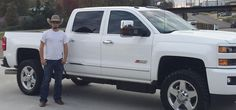 JAKE's new 2015 CHEVROLET SILVERADO! Congratulations and best wishes from Orr Chevrolet and JOHN HAMPTON.