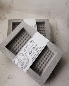 Concrete Soap Deck by thedirtyowlsoapco on Etsy