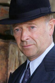 Michael Kitchen - plays DCS Foyle in the BBC series, FOYLE'S WAR.  Wonderful!